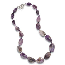 Iris Amethyst Necklace