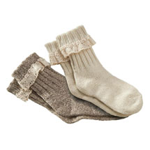 Rag Wool Cabin Socks