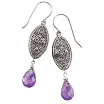 Klara Amethyst Earrings