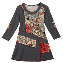 Whispering Leaves Patch Tunic