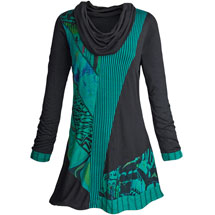 Artist Palette Tunic Top