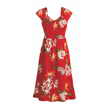 Tropical Poppy Sundress