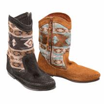 Baja Pattern Low Boot