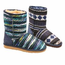 Seaglass Stripe Boots