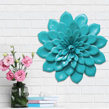 Layered  Flower Wall Décor