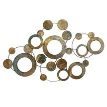 Metallic Circles Wall Décor