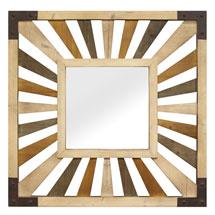 Gigi Wood Wall Mirror