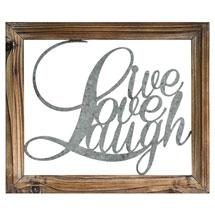 Live Laugh Love Wall Décor