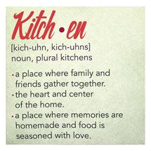 Kitchen Definition Sign