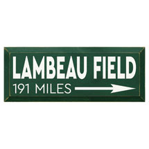 Personalized Mile Marker Wood Wall Art