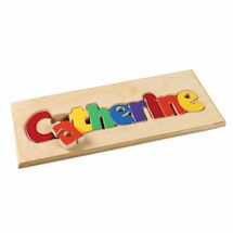 Personalized Children's Wooden Puzzle Board - 7-12 Letters