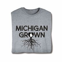 """Homegrown"" T-Shirt - Choose From Any State - Michigan"