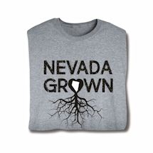 """Homegrown"" T-Shirt - Choose Your State - Nevada"