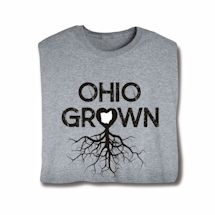 """Homegrown"" T-Shirt - Choose From Any State - Ohio"