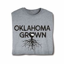 """Homegrown"" T-Shirt - Choose Your State - Oklahoma"