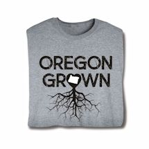 """Homegrown"" T-Shirt - Choose From Any State - Oregon"