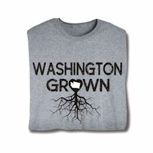 """Homegrown"" T-Shirt - Choose Your State - Washington"