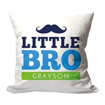 Personalized Little Bro Pillow