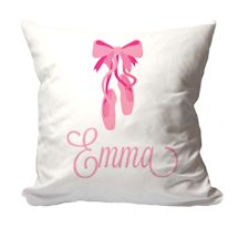 Personalized Ballerina Pillow