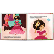 """Personalized """"A Day in the Life"""" Princess Children's Book"""