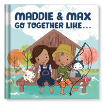 "Personalized ""We Go Together Like..."" Children's Book"