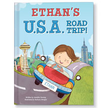 Personalized My USA Road Trip Children's Book