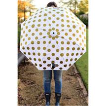 Monogrammed Adult's Umbrella