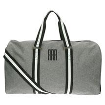 Monogrammed Men's Canvas Duffel Bag