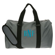Monogrammed Children's Duffel Bag