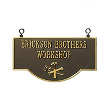 Personalized Workshop Sign