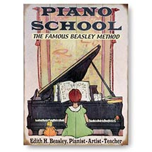 Personalized Piano School Sign