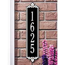 Personalized Address Plaque - Lyon Wall Plaque