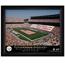 Official Personalized Pro Stadium Prints - NFL Framed