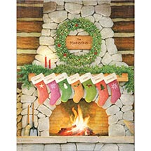 Personalized Family Christmas Wall Art - Small