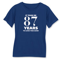 Personalized This Many Years Ladies Short Sleeve T-Shirt