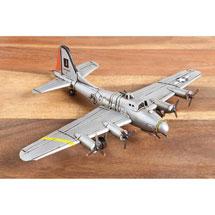 World War II Metal Sculptures - Flying Fortress