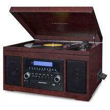 Crosley Cannon CD Recorder - Mahogany
