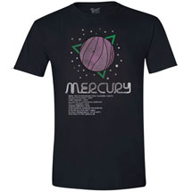 Planet Mercury T-Shirt with Scientific Facts