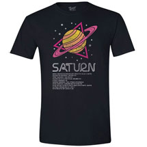 Planet Saturn T-Shirt with Scientific Facts