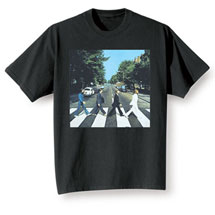 The Beatles Abbey Road Album Cover T-Shirt