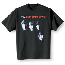 Meet The Beatles T Shirt Album Cover