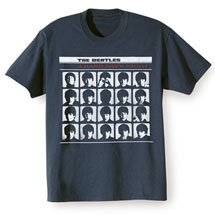 The Beatles A Hard Day's Night Album Cover T-Shirt