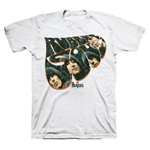 The Beatles Rubber Soul Album Cover T-Shirt
