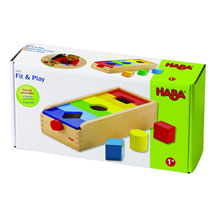 Haba Fit & Play Shape Matching Activity Toy