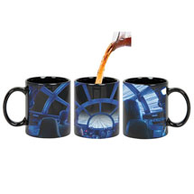 Exclusive Star Wars Rey & Chewie Millennium Falcon Cockpit Hyperspace Heat Changing Coffee Mug