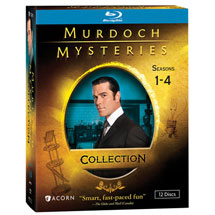 Murdoch Mysteries Collection: Seasons 1-4 Blu-ray & DVD