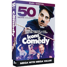 Icons of Comedy: 50 Movie Collection
