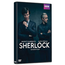 Sherlock: Season Four DVD & Blu-ray