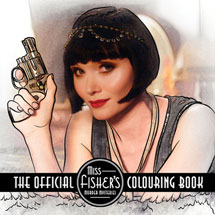 The Official Miss Fisher's Murder Mysteries Coloring Book