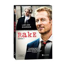 Rake: Series 1 DVD